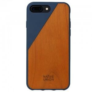 Native Union Clic Wooden - obudowa ochronna do iPhone 7/8 Plus (marine)